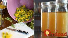 Púpavový olej je záchranou pre vaše kĺby: Nepremeškajte príležitosť a vyrobte si ho, vydrží celý rok!