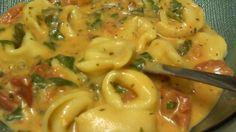 Spinach Tomato Tortellini