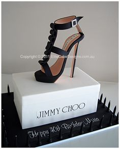 Jimmy Choo stiletto novelty cake, exclusively designed by EliteCakeDesigns Sydney. Visit our exclusive Novelty Cake design Gallery Pretty Cakes, Beautiful Cakes, Amazing Cakes, Jimmy Choo, Crazy Cakes, Fancy Cakes, Pink Cakes, Shoe Cakes, Cupcake Cakes