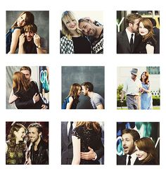 Ryan Gosling & Emma Stone Ryan Gosling Style, Emma Stone, Best Friends Forever, Best Couple, Star Fashion, Chemistry, Actors & Actresses, Beautiful People, Crushes