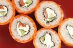 How many calories are in sushi?