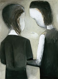 Charles Blackman ~ The Friends, 1961
