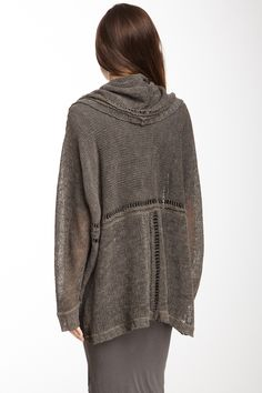 Inhabit  Hooded Linen  Sweater