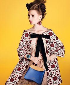Miu Miu Spring 2012 Ad Campaign  Mia Wasikowska, photographed by David Sims