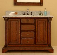 Sagehill Bathroom Vanity From The Kingston Court Collection