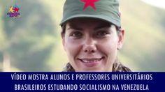 Vídeo mostra alunos e professores universitários brasileiros estudando s...