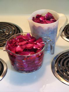 rose water. Awesome step by step tutorial
