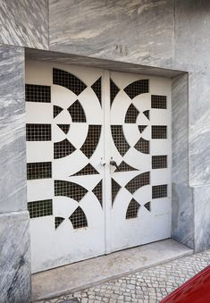 The coolest doors across Europe as photographed by Adam Štěch, who considers uncovering the hidden gems of Modernist architecture his life-long passion.