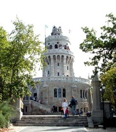 If you want to breathe some nice fresh air, be in the green and take panoramic photos of Budapest, it's a good idea to take the Children's Railway and get off at Janoshegy, at the Elisabeth Lookout Tower (in Hungarian Erzsébet kilátó). - Budapest Travel Guide
