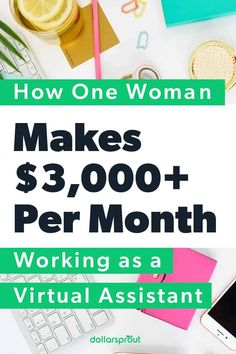 Betsy Skinner completed the course $10K VA by Kayla Sloan fall 2019 and now earns $3,000 a month (and counting!) as a VA. She relayed some of her key strategies to successfully making money online as a virtual assistant. Read her tips to get started. |Make Money| Money| Make More Money| Make Money on the side| Side Hustle| Make Money Online, How To Make Money, Accounting Firms, Survey Sites, Managing Your Money, Work From Home Moms, Virtual Assistant, Growing Your Business