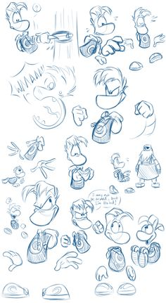Learn more about the Rayman sketch of DeviantArt by EarthGwee - DIY - Game Art Character Drawing, Character Illustration, Character Design, Rayman Origins, Jeux Xbox One, Rayman Legends, Keys Art, Mascot Design, Video Game Art