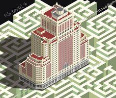 Plaza España. Wanda venderá el Edificio España a Baraka por 272 millones. By Paco Ramirez&Mr.Illustrator