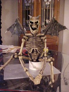 Make a Winged Demon out of your small bucky skeletons