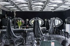 H.R. Giger Museum Bar - Gruyeres, Switzerland