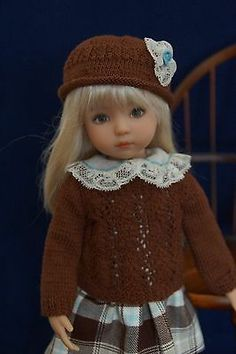 """Effner 13"""" Little Darling Perfectly Plaid Ensemble by Ladybugs Doll Designs   eBay. Sold for $80.00 on 1/11/14"""