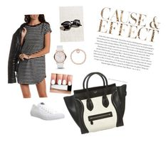 """""""Untitled #41"""" by fashionkid-1 on Polyvore featuring Envi, Charlotte Russe, Converse, Marc by Marc Jacobs and CÉLINE"""