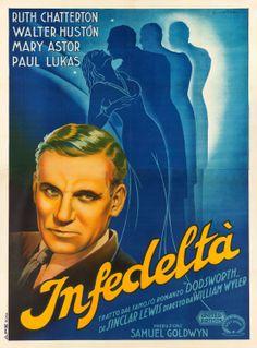 Dodsworth (William Wyler, 1936) Italian 4-foglio design by Anselmo Ballester