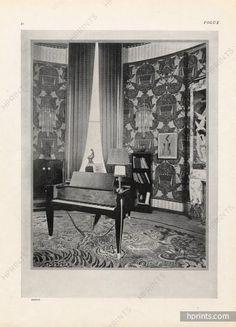 Ruhlmann 1925 Piano Gaveau, Art Déco, Photo Buffotot