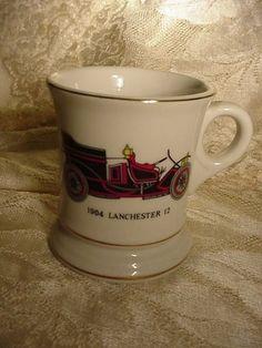 mustache mug 1904 lanchester auto