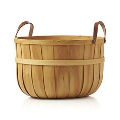 Orchard Large Basket  | Crate and Barrel