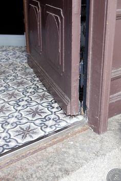 Rencontre avec le blogueur: Kviddevitt   Vie Jolie - Patterned floors - Tile - Concrete