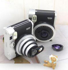 Fujifilm Fuji Instax Mini 90 Camera Close-up Lens,Self-shot Mirror +Purple Filter. Mini special self-protrait mirror, special for the Close-up lens and reflectors of all the model 25 camera.