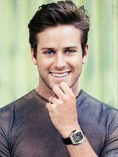 Armie hammer as Christian Grey. YES PLEASE.