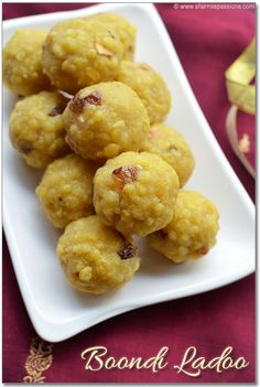 Food Photography: Boondi Ladoo Recipe – Boondi Laddu – How to make boondi ladoo Indian Dessert Recipes, Indian Snacks, Sweets Recipes, My Recipes, Snack Recipes, Cooking Recipes, Indian Sweets, Indian Recipes, Cooking Tips