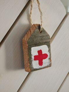 het rode kruis | leuk van een stukje steigerhout