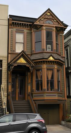 A colorful Victorian in SF's Lower Haight.