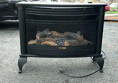 Free Standing Propane Stoves Free Standing Rite Temp Ventless Propane Gas Fireplace Ebay Gas Fireplace Propane Gas Fireplace Propane Stove