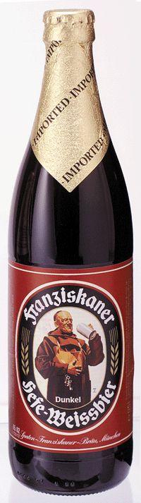 Franziskaner Dunkel this is great beer!