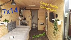 Enclosed Trailer Camper Conversion, Utility Trailer Camper, Toy Hauler Camper, Enclosed Cargo Trailers, Cargo Trailer Conversion, Box Trailer, Trailer Build, Camper Trailers, Tiny House Trailer