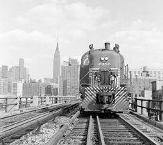 train on the high line new york