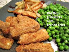 Old Bay Fish and French Fries #Seafood #Recipe