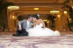 Las Vegas destination wedding at the Bellagio