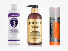 Is your thinning hair getting worse? Here are the ultimate reviews for 10 best hair loss shampoos that'll stop hair falling out & stimulate hair growth. Best Hair Loss Shampoo, Shampoo For Thinning Hair, Hair Remedies For Growth, Hair Loss Remedies, Hair Growth, Hair Loss Causes, Prevent Hair Loss, 21 Day Fix, Vitamins For Hair Loss