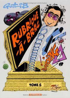 Amazon.fr - Rubrique-à-Brac - tome 5 - Rubrique-à-Brac (5) - Gotlib - Livres