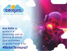 Ana Sofia también tiene actividades que le gustan mucho, cuál es la actividad preferida de tu #BebéTernura ?