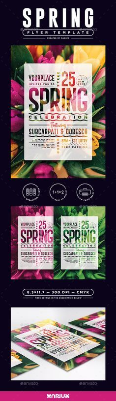 #Spring #Flyer/Poster - Events Flyers