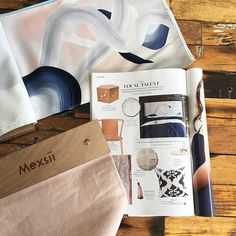 Ohhh such a beautiful read of @homebeautiful today and there was our Infinite Daydream bedhead in the trend section 😁💕💕💕 #mexsii #infinitedaydream