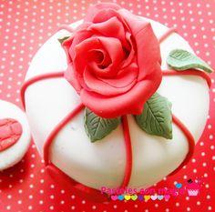 beauty cake tarta romantica idea san valentin - valentines cake