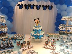 12 Inch Baby Mickey Mouse Decorations Handmade Supplies Decor First