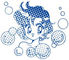 Sailor Moon / manga / Mercury