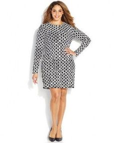 a6d9924d Super dress plus size long michael kors ideas #dress Fashion Company, Plus  Size Work
