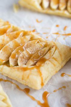 //salted caramel apple tarts