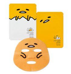 Holika Holika gudetama LAZY&EASY Character Mask Sheet 23ml * 2ea