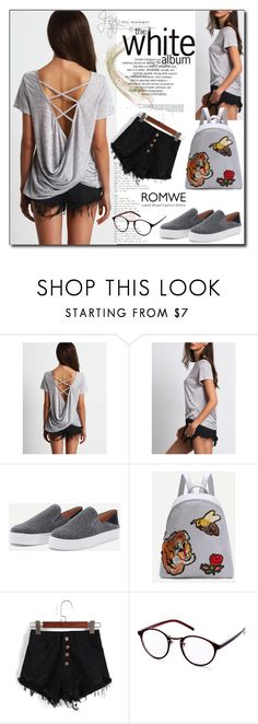 """""""ROMWE 10"""" by woman-1979 ❤ liked on Polyvore featuring Grace"""
