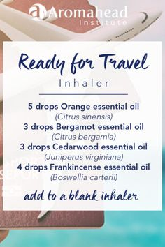 Dec 2019 - How to make an Aromatherapy travel inhaler with essential oils to support your health and get great rest on your journeys! Homemade Essential Oils, Essential Oils For Sleep, Cedarwood Essential Oil, Bergamot Essential Oil, Frankincense Essential Oil, Essential Oil Uses, Doterra Essential Oils, Young Living Essential Oils, Essential Ouls