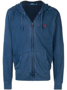 a74941de8 Shop Ralph Lauren zipped hoodie Vest Jacket